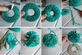 diy como hacer pompones de ideas navidad pompones de alfombras de pompones y