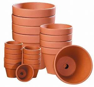 Pot En Terre Cuite Pas Cher : pots en terre cuite ronds ~ Dailycaller-alerts.com Idées de Décoration