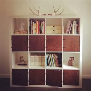 Expedit Mit Türen : hacked ikea bookshelf decoration pinterest m bel regal und ikea ~ Indierocktalk.com Haus und Dekorationen
