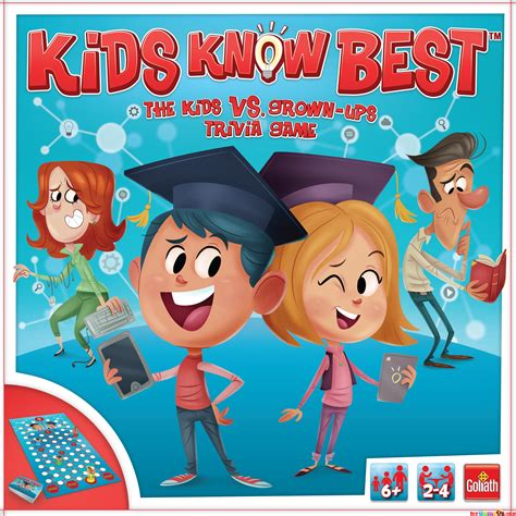 Kids Know Best Board Game Goliath Games