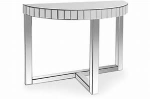 Console Miroir Pas Cher : console miroir demi lune atal console pas cher ~ Teatrodelosmanantiales.com Idées de Décoration