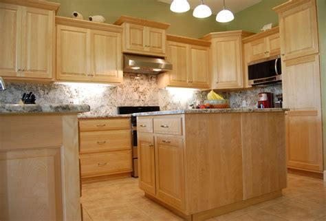 Kitchen Paint Colors With Maple Cabinets Natural Maple