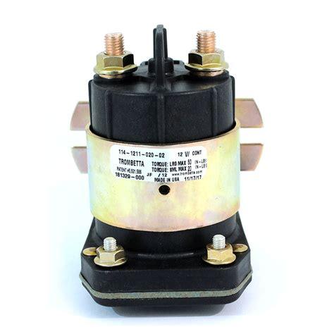 trombetta 114 1211 020 02 series 12v dc contactor waytek