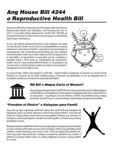 research paper  rh bill   philippines rh bill articles