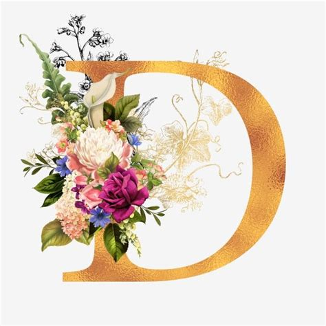floral gold alphabet   watercolor flowers floral pink pattern background