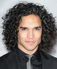 Long Curly Hair Guys