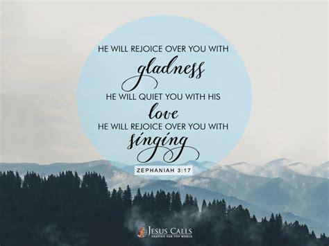 todays promise zephaniah  jesus calls
