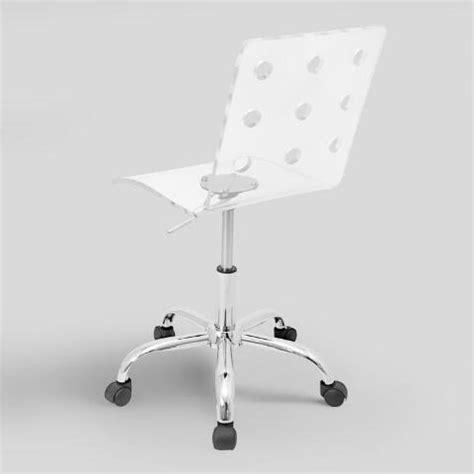 clear acrylic swivel office chair clear acrylic swivel office chair world market