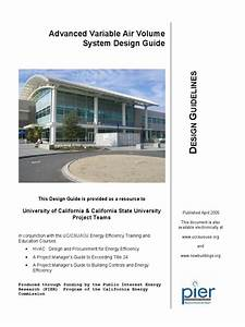 Uc Csu Vav Design Guide