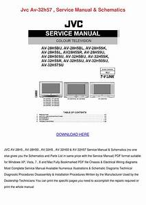 Jvc Av 32h57 Service Manual Schematics By Idagamble