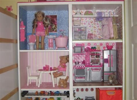 besta american girl sized doll housetoy car garage ikea