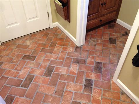 how to lay tile floor in kitchen thin brick color options realthinbrick 9470