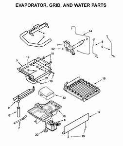 Kitchenaid Kuix535hps00 Freestanding Ice Maker Parts