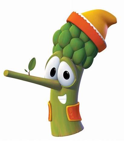 Veggietales Pistachio Characters Funny Google Boy Christian