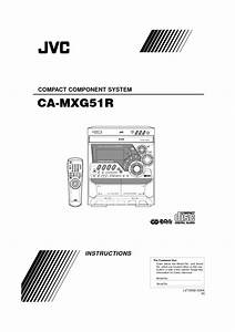 Compact Component System Ca-mxg51r Manuals