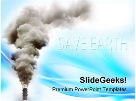 industry pollution industrial powerpoint templates