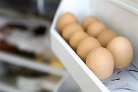 Eggs In The Fridge Or Cupboard by Storing Eggs In The Fridge Door Can Make Them Go Rotten