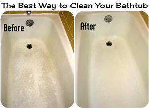 The best way to clean your bathtub diy craft projects for How to clean bathroom tub