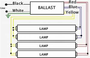 Light Ballast Wiring Diagram