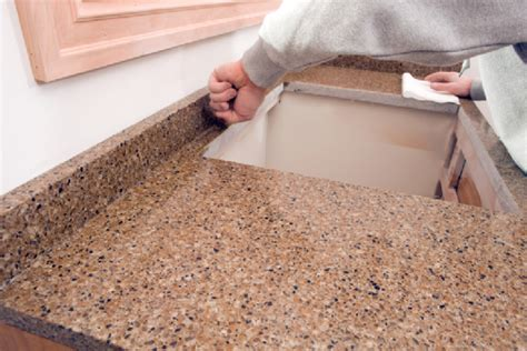 discussing pros cons of laminate countertops