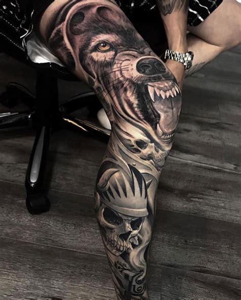 leg tattoos  men cool ideas designs