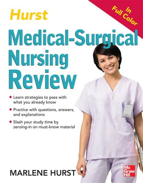 barnes and noble hurst hurst reviews surgical nursing review by marlene