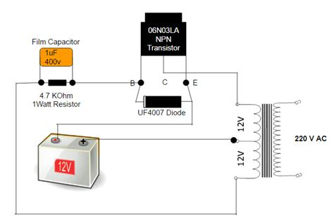 diy howto make easy simple 12 volt dc battery to