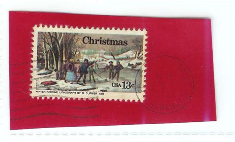 christmas stamp  cent kids stamp