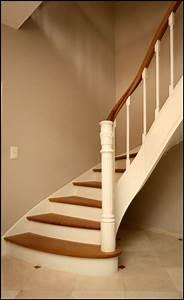 Escalier Bois Blanc : mev sprl finition peinte ~ Melissatoandfro.com Idées de Décoration