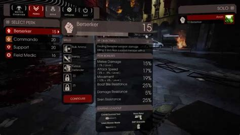 killing floor 2 perks patched killing floor 2 max perk rank hack tutorial youtube