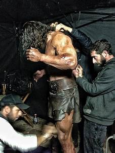 Dwayne Johnson Prepares for Battle in 'Hercules ...
