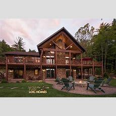 South Carolina Log Home Floor Plan By Golden Eagle Log
