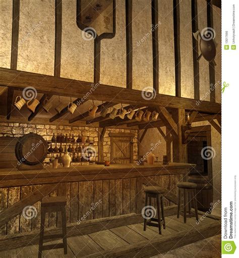medieval tavern  royalty  stock image image