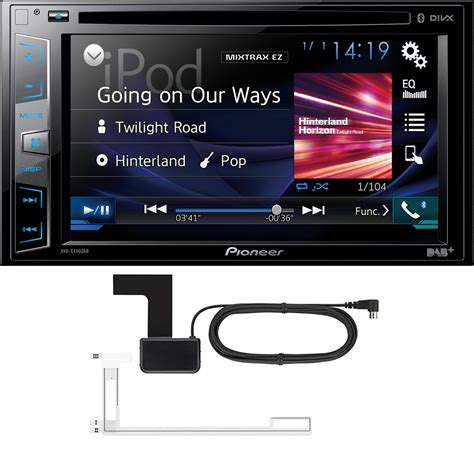 Car Sounds Security Store Pioneer Avh X490dab Aerial