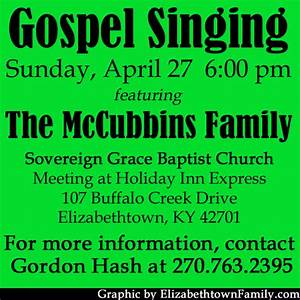 The McCubbins Family at Sovereign Grace Baptist Church
