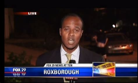 News Live by Moons During Live News Reporter Rolls
