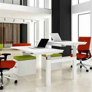 2, Person, Desk, Simple, Solving, Problem, For, Small, Office, Or, Even, Twin, Needs, U2013, Homesfeed