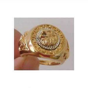 Chevalière En Or Pour Homme : chevali re homme plaqu or lion t 64 achat vente bague anneau chevali re homme plaqu or ~ Dode.kayakingforconservation.com Idées de Décoration