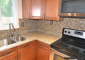 black kitchen cabinets ideas brown glass tile santa cecilia countertop