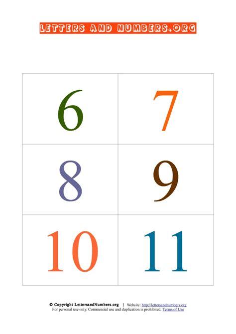 6 Best Images Of Printable Number Cards 0 20  Free Printable Numbers 120, Number 120 Flash
