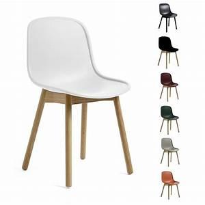 Stuhl Eiche Massiv : hay neu 13 chair stuhl ohne armlehnen gestell eiche massiv farblos lackiert design sebastian ~ Orissabook.com Haus und Dekorationen