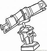 Coloring Microscope Science Printable Drawing Observatory Telescope Worksheet Doctor Getdrawings Coloringpages101 sketch template