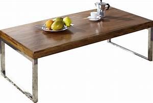 Soldes Table Basse : soldes table basse rectangle en metal et bois ~ Teatrodelosmanantiales.com Idées de Décoration