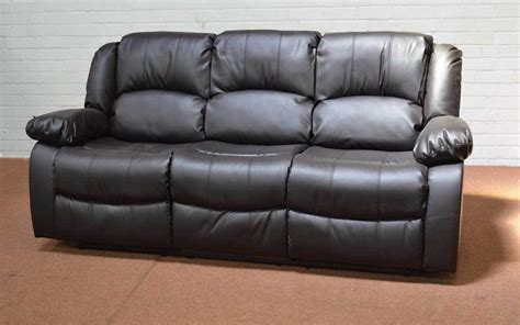 clearance leather sofas clearance dakota 3 seater brown leather sofa t3795 163 132 00 picclick uk