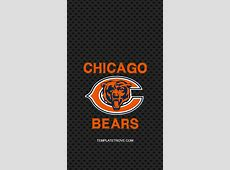20182019 Chicago Bears Lock Screen Schedule for iPhone 6