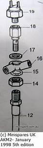 Mini Cooper Washer For Brake Switch Banjo Bolt  Larger One