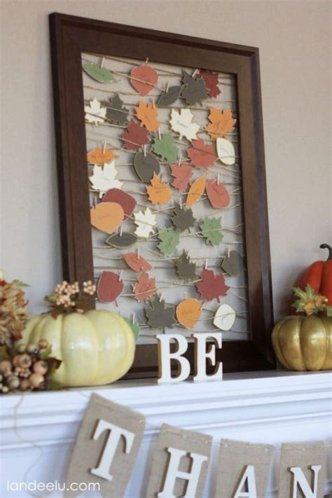 thanksgiving  fall crafts  adults