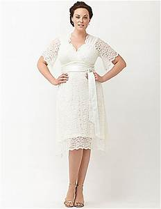 Lace confection wedding dress by kiyonna lane bryant for Lane bryant wedding dress
