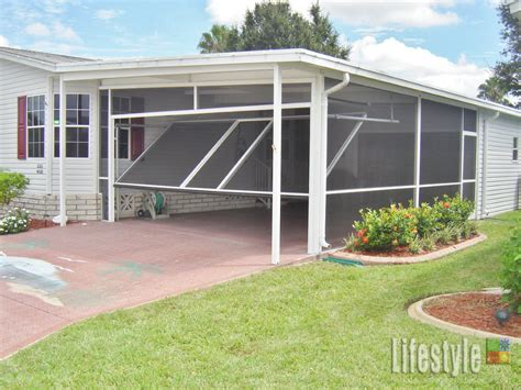 lifestyle carport application from carport to screened