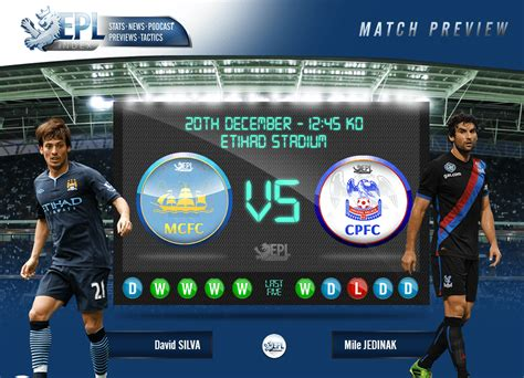 Manchester City vs Crystal Palace Preview | Team News, Key ...
